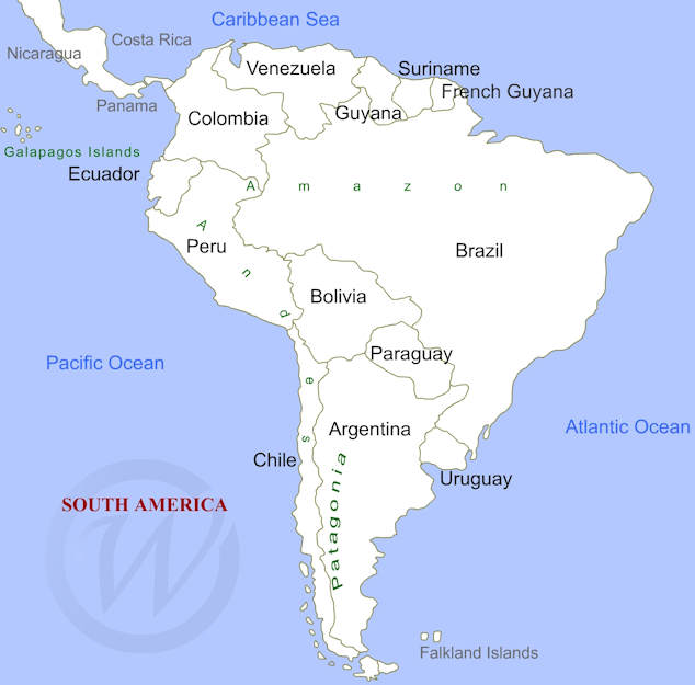 Map of south america gumiabroncs Images