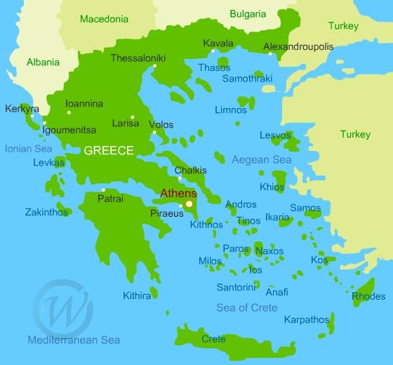 Map of greece gumiabroncs Choice Image