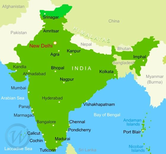 Map of india gumiabroncs Gallery