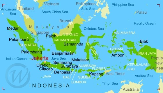 Superior Map Of Indonesia