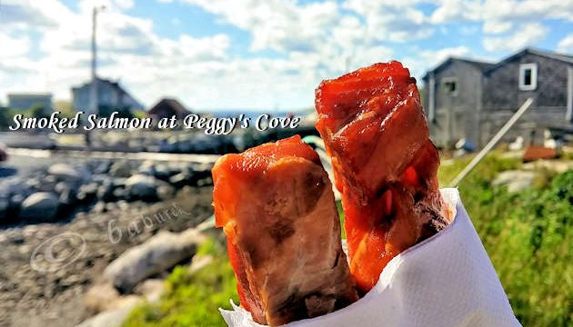 Smoked Salmon at Peggy's Cove