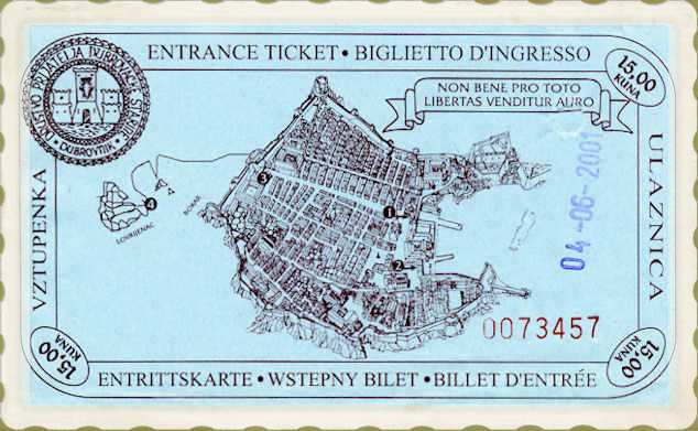 Walk the Dubrovnik wall entrance ticket