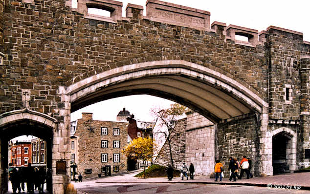 Porte St. Jean, Quebec city