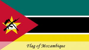 Flag of Mozambique