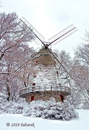 Fleming Mill in LaSalle - windmill