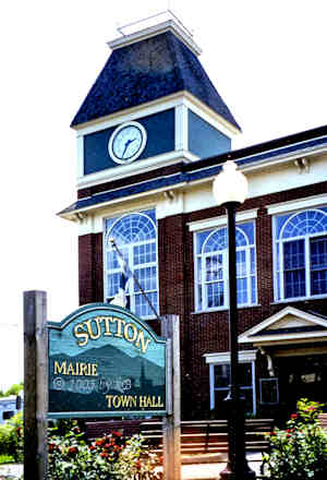 Town Hall in Sutton