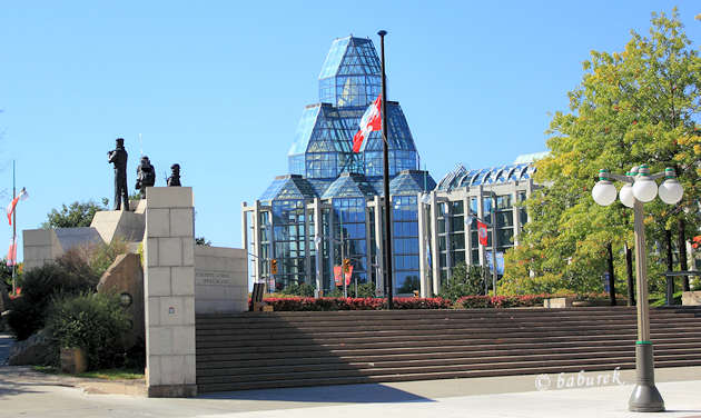 The National Gallery of Canada in Ottawa
