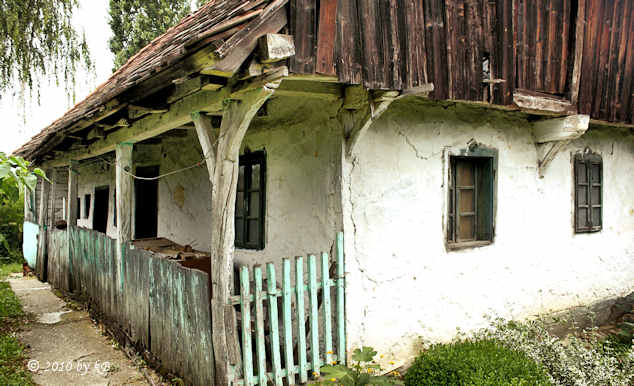 Common house until 20th century in Zagorje