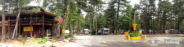 KOA Lake Placid campground