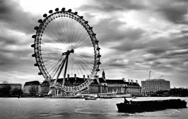The London Eye, Ferris wheel