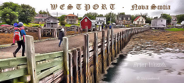Westport, Brier Island, Bay of Fundy