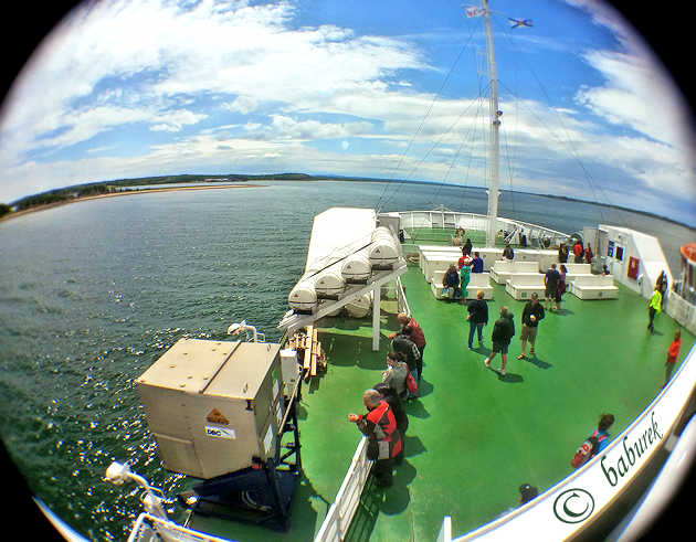 Northumberland Ferries - Wood Islands on PEI to Caribou Island in Nova Scotia